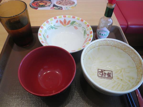 すき家のトローリ3種のチーズ牛丼  宝塚中筋店_c0118393_14475276.jpg