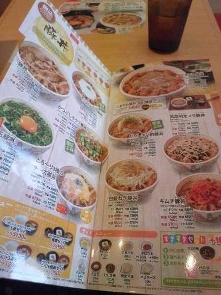 すき家のトローリ3種のチーズ牛丼  宝塚中筋店_c0118393_14564947.jpg