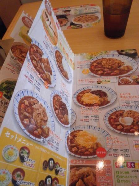 すき家のトローリ3種のチーズ牛丼  宝塚中筋店_c0118393_1457692.jpg