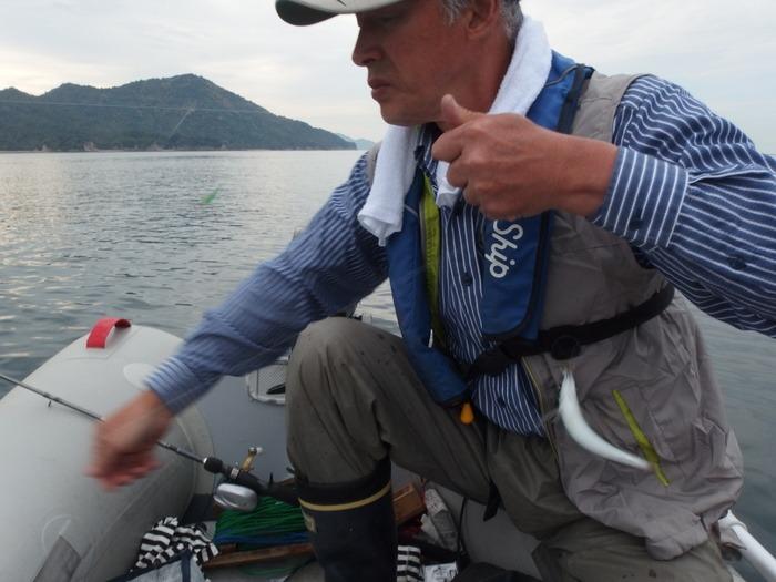 宮島近くで釣り♪_c0116915_23453973.jpg