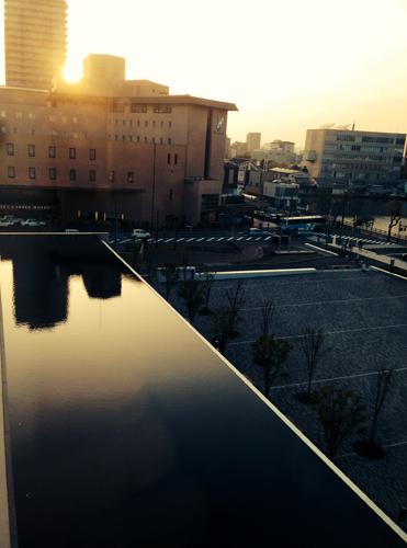 教室からの眺め_e0197227_16192220.jpg