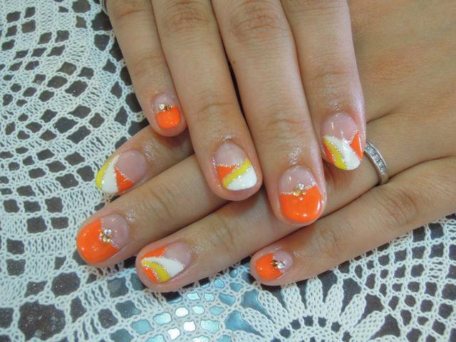 Pickup Nail~Orange_a0239065_15162731.jpg