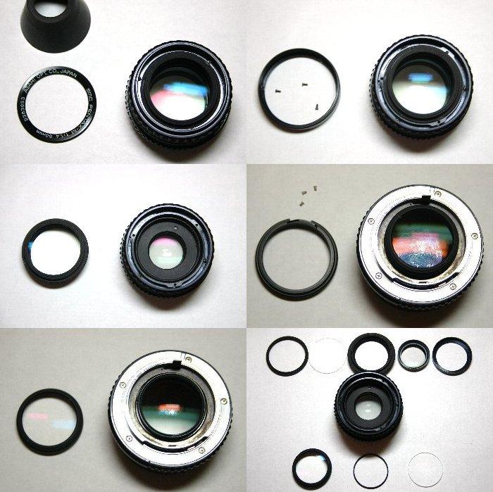smc PENTAX-M 50mm F1.4 分解清掃_d0107372_19305089.jpg