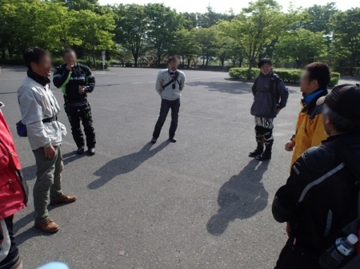 yoshidonさんの新緑林道ツー_a0279883_18494437.jpg