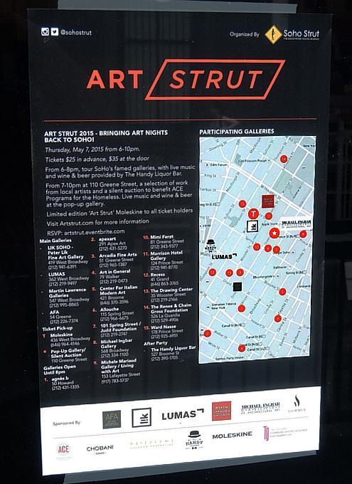"""ニューヨークのSoHoで20超のギャラリーが新イベント、\""""Art Strut 2015\""""開催へ_b0007805_19433850.jpg"""