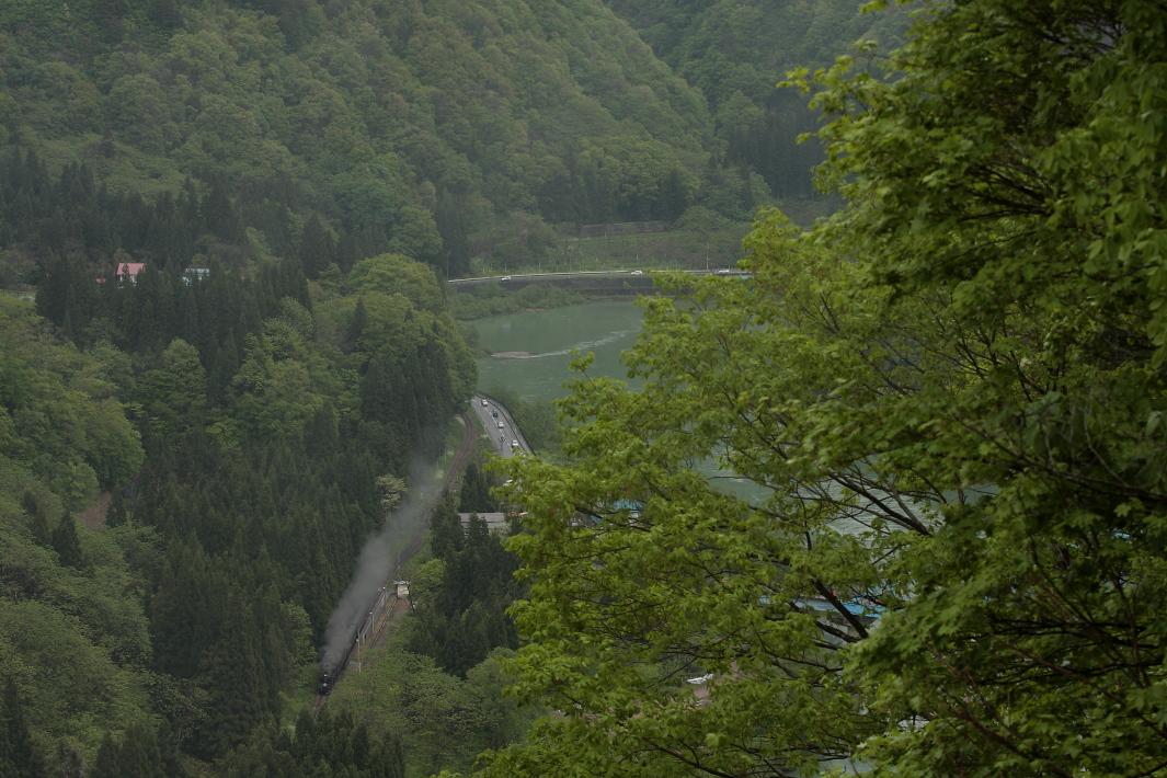 緑一色の只見川に汽車の煙が流れた頃 - 2011年・只見 -  _b0190710_1920260.jpg