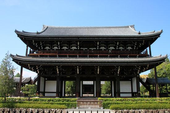 非公開文化財 東福寺三門_e0048413_20265720.jpg