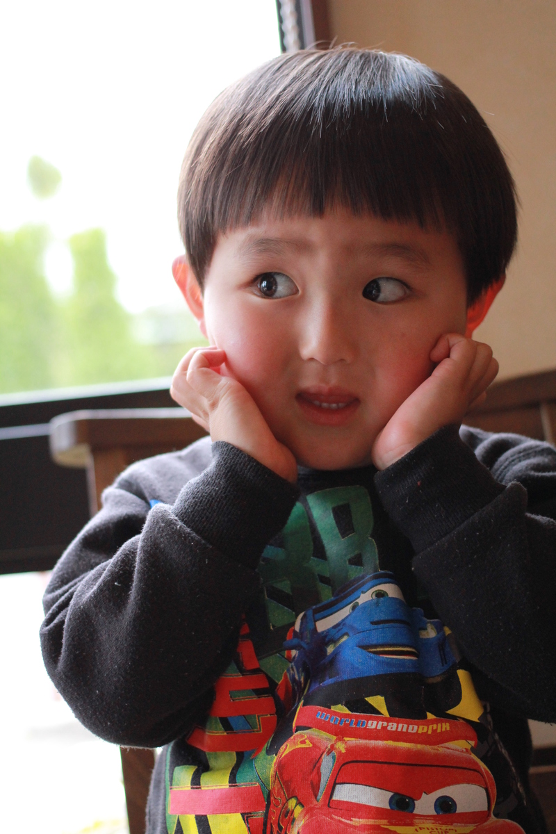 子供カット 男の子 髪型 かわいい さくら市 美容室エスポワール : 美容室