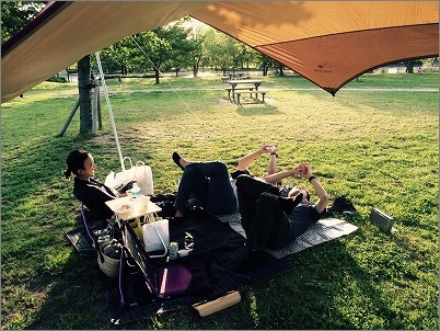 【 GW初日はピクニック 】_c0199166_19447.jpg