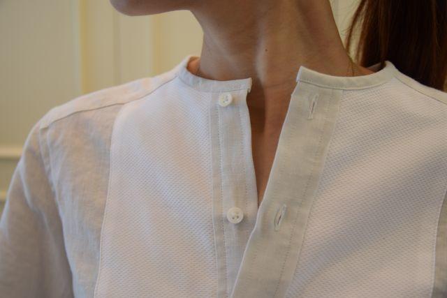 リネンの白シャツ ・・・ Scye._b0110586_19533445.jpg