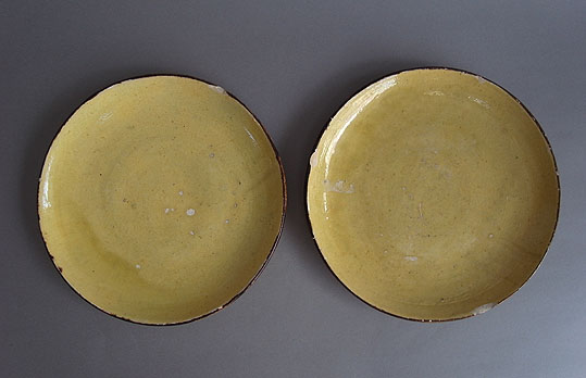 黄色の平皿_e0111789_12511847.jpg