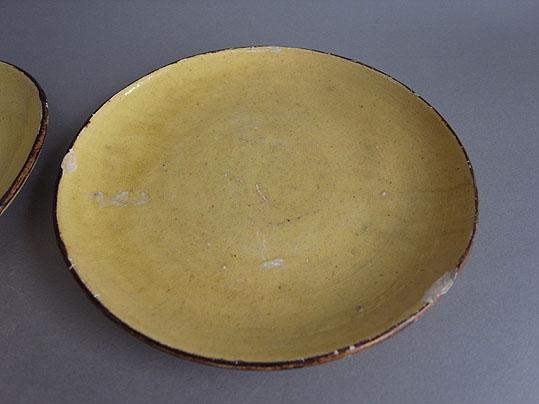 黄色の平皿_e0111789_12522196.jpg
