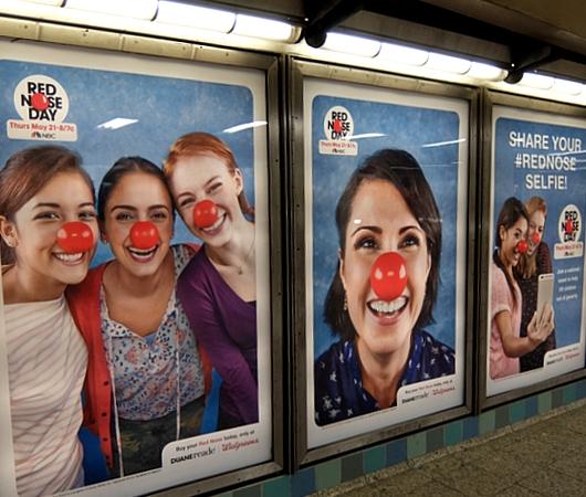 「赤い羽根」ならぬ「赤い鼻」で子ども達を救おう!! Red Nose Day 2015_b0007805_19145531.jpg