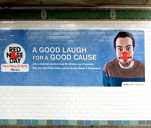「赤い羽根」ならぬ「赤い鼻」で子ども達を救おう!! Red Nose Day 2015_b0007805_19152211.jpg