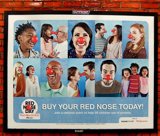 「赤い羽根」ならぬ「赤い鼻」で子ども達を救おう!! Red Nose Day 2015_b0007805_19153882.jpg