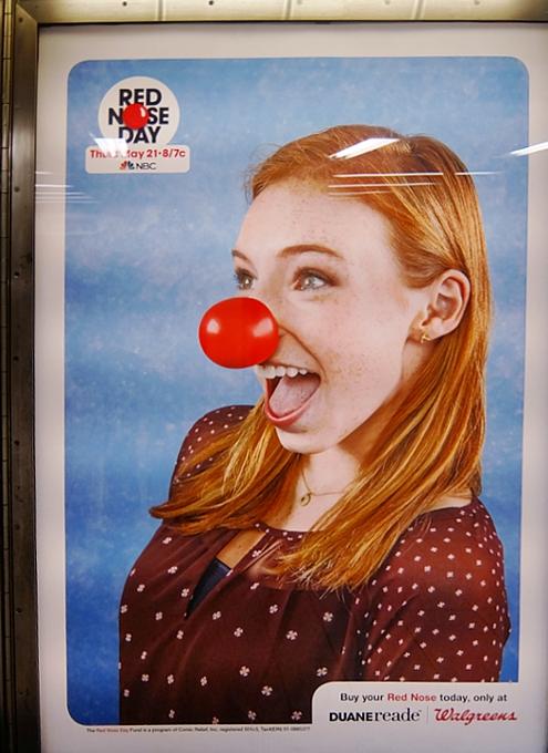「赤い羽根」ならぬ「赤い鼻」で子ども達を救おう!! Red Nose Day 2015_b0007805_19155288.jpg