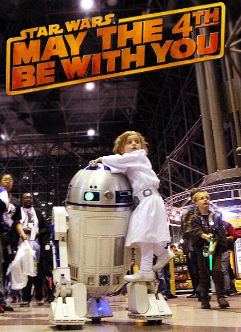5月4日はスター・ウォーズの日 May the force be with you!_b0007805_2293266.jpg