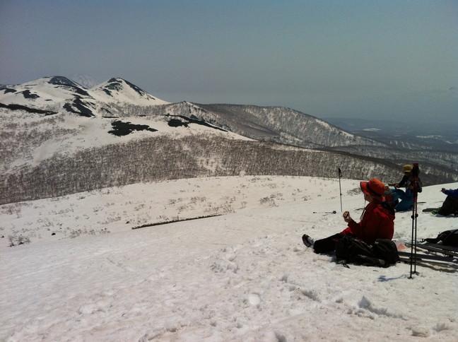 """2015年4月『残雪を求めて、その1 -ニセコ白樺岳・前目国内岳-』 April 2015 \""""Spring Ski No.1\""""_c0219616_5172979.jpg"""