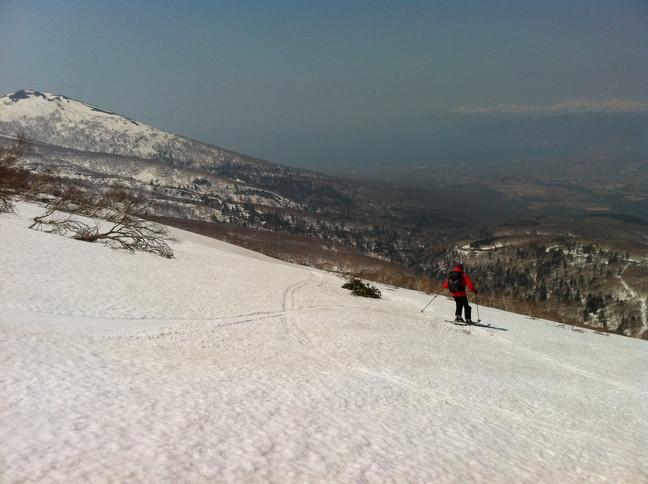 """2015年4月『残雪を求めて、その1 -ニセコ白樺岳・前目国内岳-』 April 2015 \""""Spring Ski No.1\""""_c0219616_517458.jpg"""
