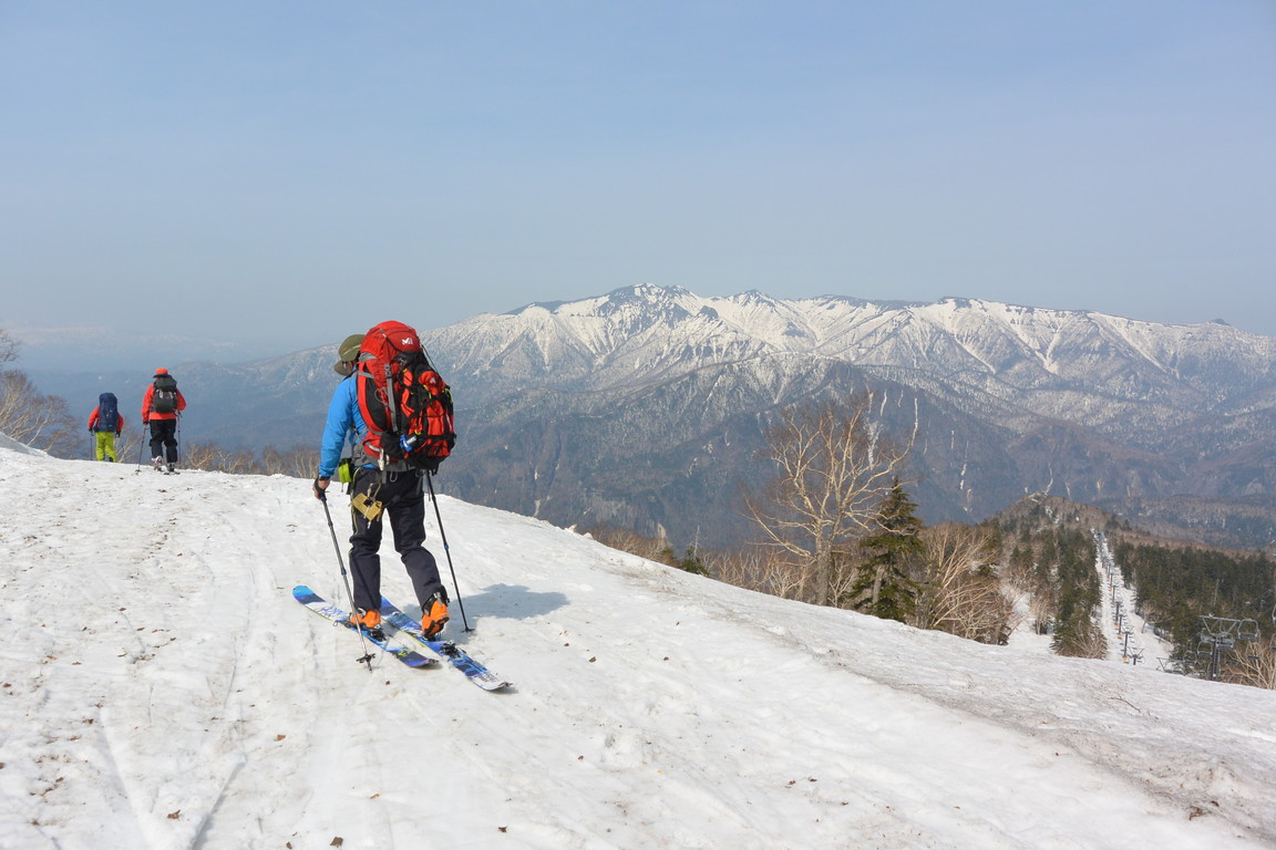 """2015年5月『残雪を求めて、その2 -大雪北鎮岳-』 May 2015 \""""Spring Ski No.2\""""_c0219616_5295276.jpg"""