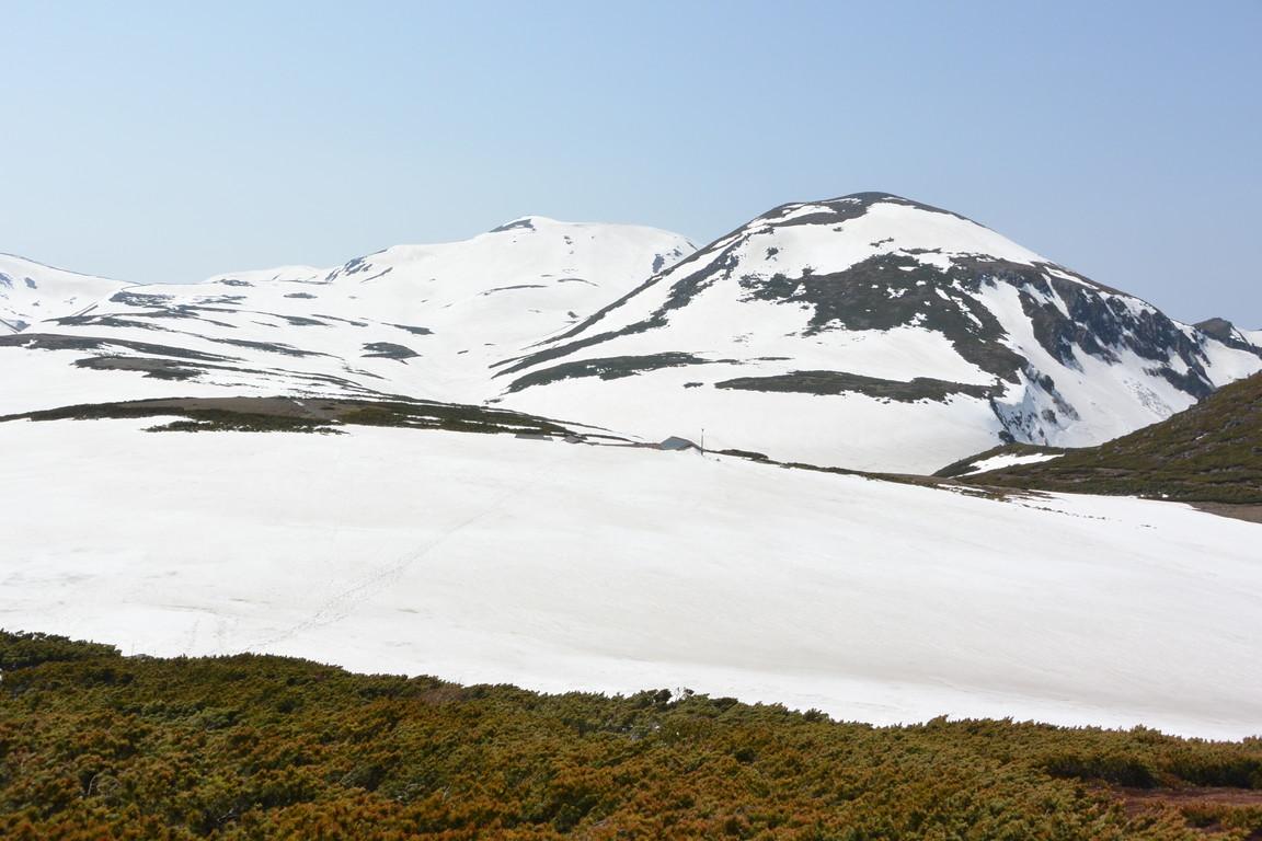 """2015年5月『残雪を求めて、その2 -大雪北鎮岳-』 May 2015 \""""Spring Ski No.2\""""_c0219616_662086.jpg"""