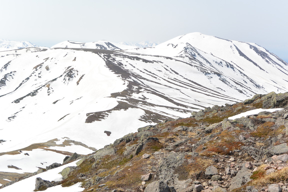 """2015年5月『残雪を求めて、その2 -大雪北鎮岳-』 May 2015 \""""Spring Ski No.2\""""_c0219616_932290.jpg"""