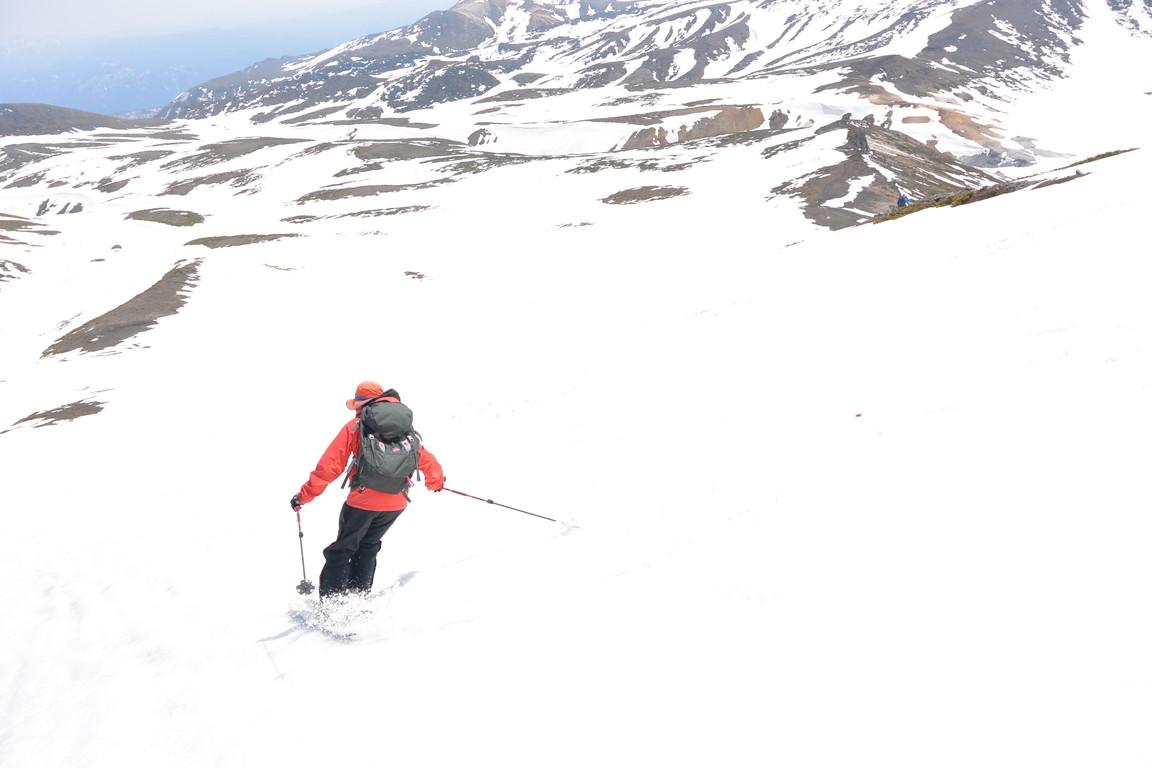 """2015年5月『残雪を求めて、その2 -大雪北鎮岳-』 May 2015 \""""Spring Ski No.2\""""_c0219616_9374726.jpg"""