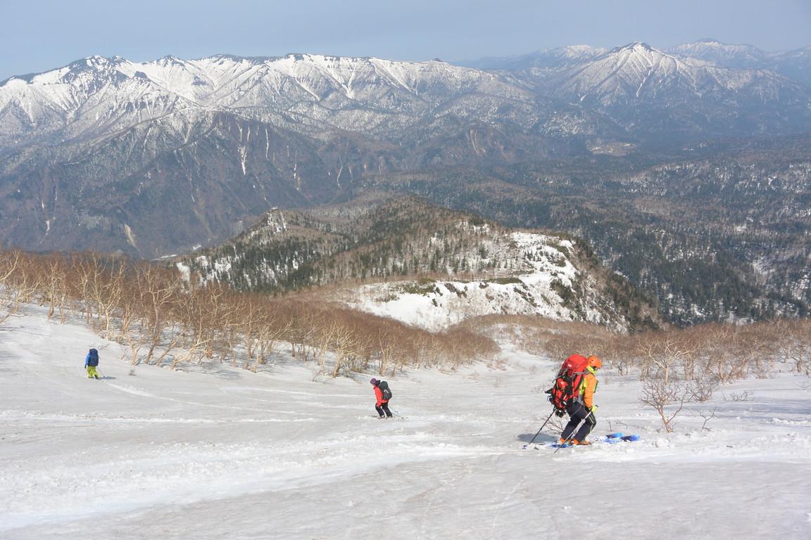 """2015年5月『残雪を求めて、その2 -大雪北鎮岳-』 May 2015 \""""Spring Ski No.2\""""_c0219616_9413784.jpg"""