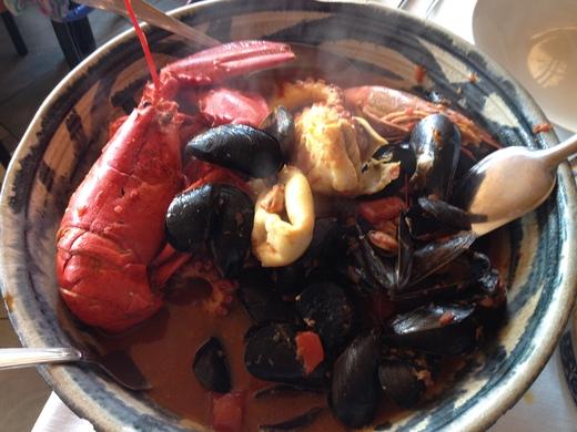 モンテロッソで魚介を食べまくる_a0136671_33285.jpg