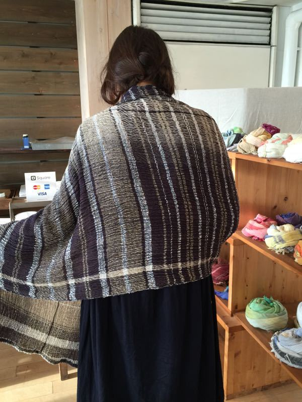 玉木新雌さん only one shawl_f0212293_1291126.jpg