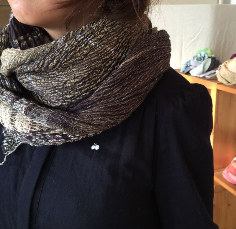 玉木新雌さん only one shawl_f0212293_1291377.jpg