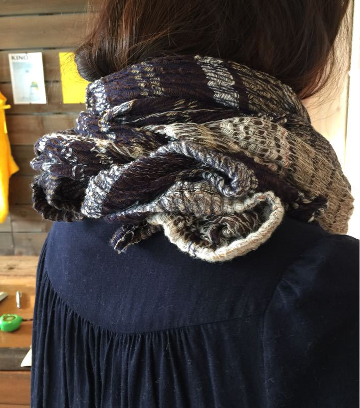 玉木新雌さん only one shawl_f0212293_1291476.jpg
