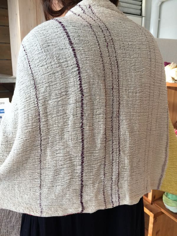 玉木新雌さん only one shawl_f0212293_1292250.jpg