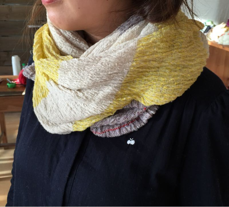 玉木新雌さん only one shawl_f0212293_1292534.jpg