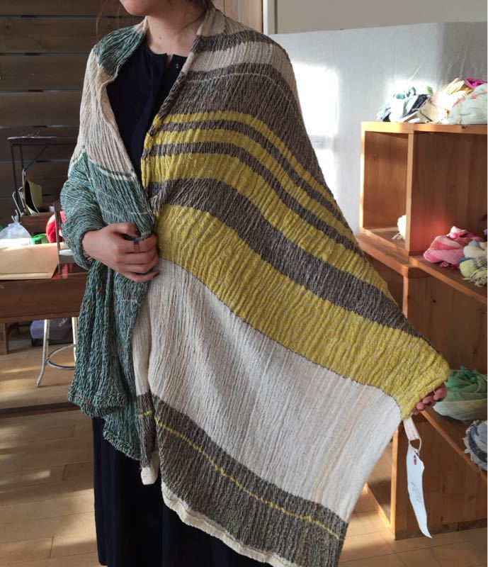 玉木新雌さん only one shawl_f0212293_1292759.jpg
