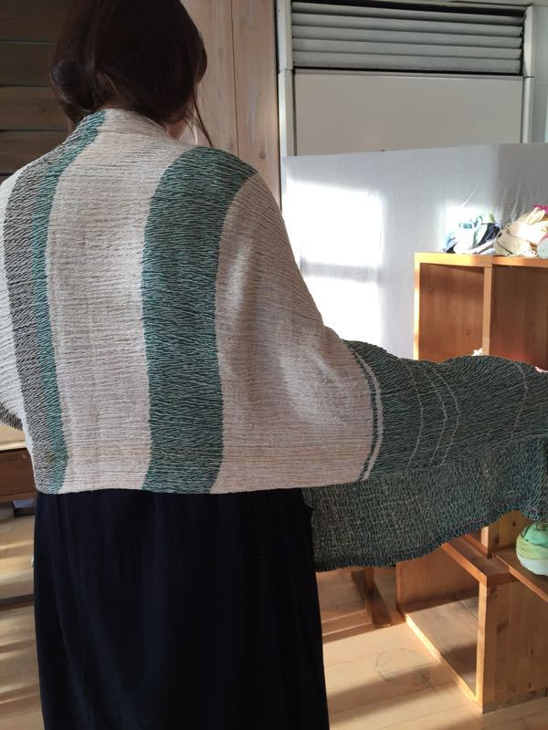 玉木新雌さん only one shawl_f0212293_1292823.jpg