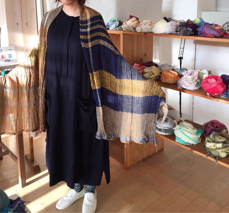 玉木新雌さん only one shawl_f0212293_129472.jpg