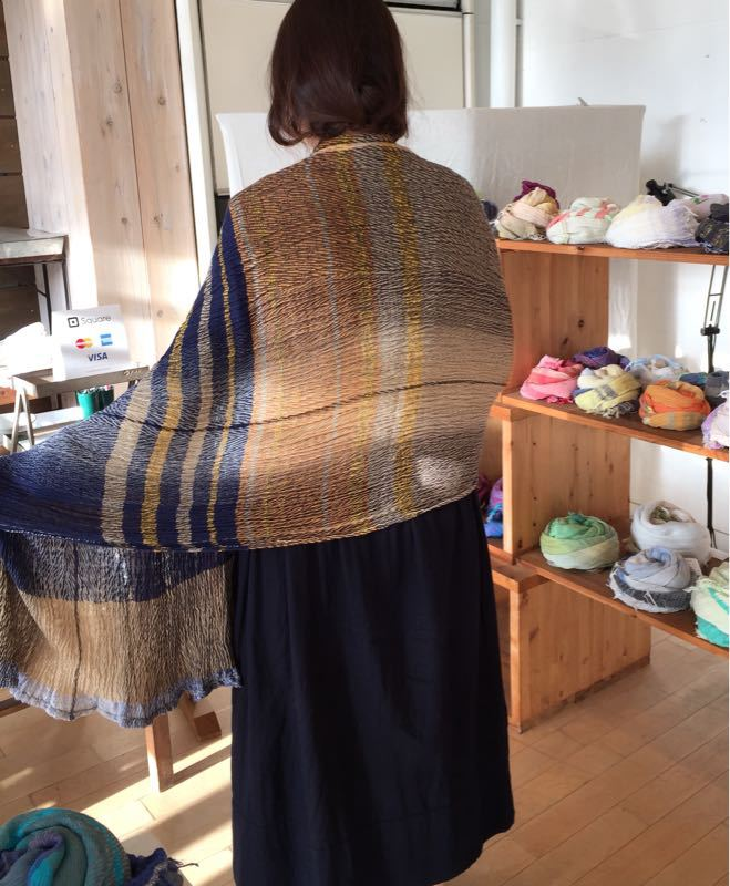 玉木新雌さん only one shawl_f0212293_129541.jpg