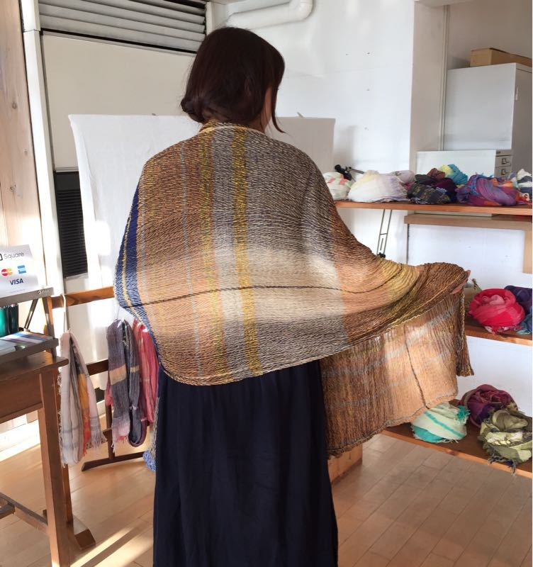 玉木新雌さん only one shawl_f0212293_129642.jpg