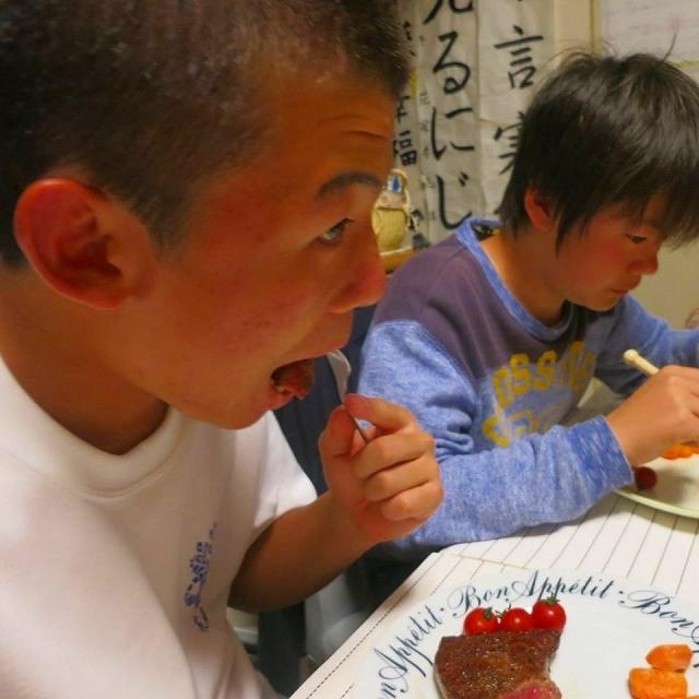誕生日の夕食_a0000912_11250752.jpg