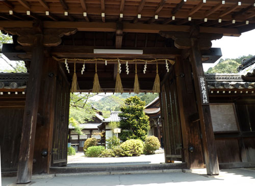 山科 毘沙門堂_e0048413_1647628.jpg