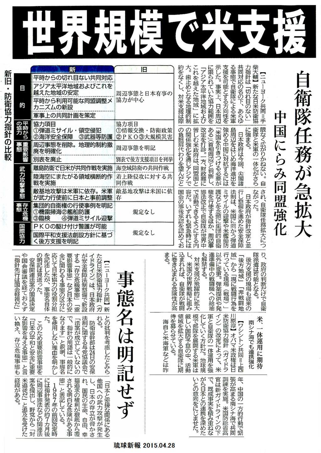 海保、陸上で強制排除 弁護士「違法な暴行」 ほか_f0212121_12142843.jpg