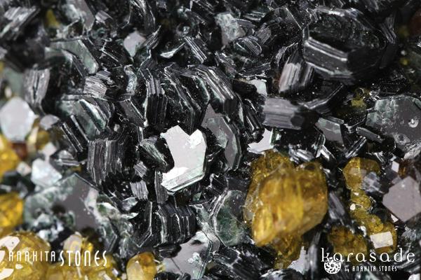 アンドラダイトガーネット、クリノクロア、ダイオプサイド原石(パキスタン産)_d0303974_16143558.jpg