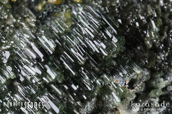 アンドラダイトガーネット、クリノクロア、ダイオプサイド原石(パキスタン産)_d0303974_16205420.jpg