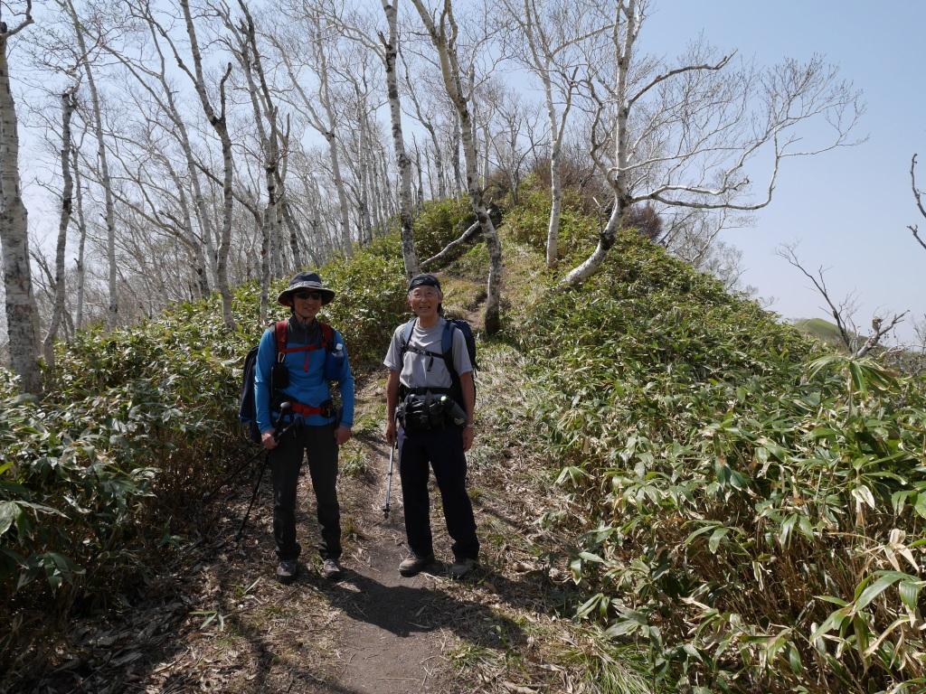 伊達紋別岳、5月5日-驚きの出会い編-_f0138096_2310199.jpg