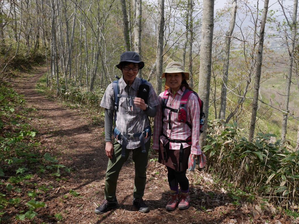 伊達紋別岳、5月5日-驚きの出会い編-_f0138096_2392326.jpg