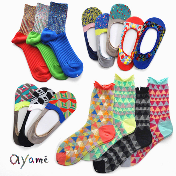 colorful summer socks ! / ayame\' _d0193211_14311049.jpg