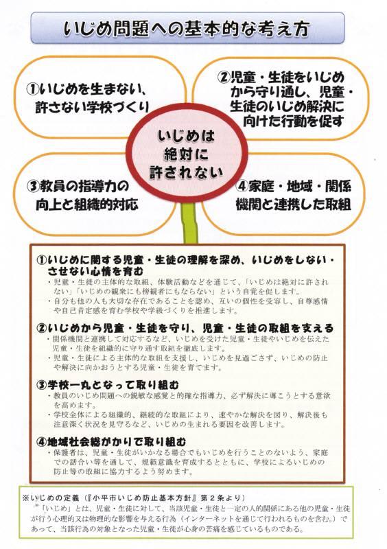 「いじめゼロ」に向けた小平の取組み_f0059673_23650100.jpg