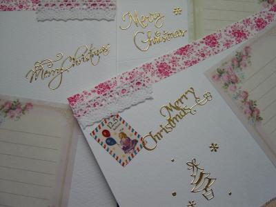 クリスマスカード.5 コラージュ編…ちら見せ_d0285885_14072358.jpg