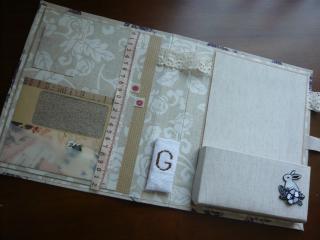 布×紙 カルトナージュ式ノートケース!_d0285885_14092254.jpg